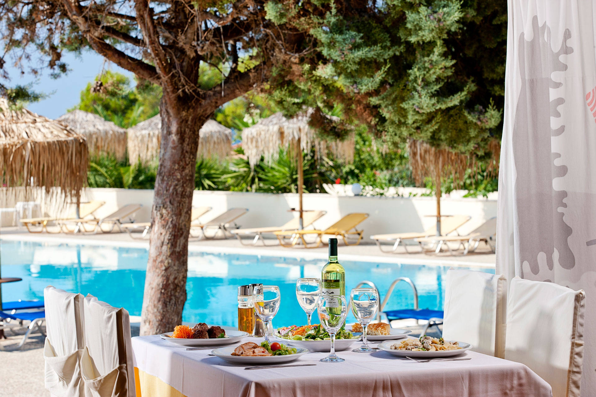 Restaurant - bar - ionian Sea